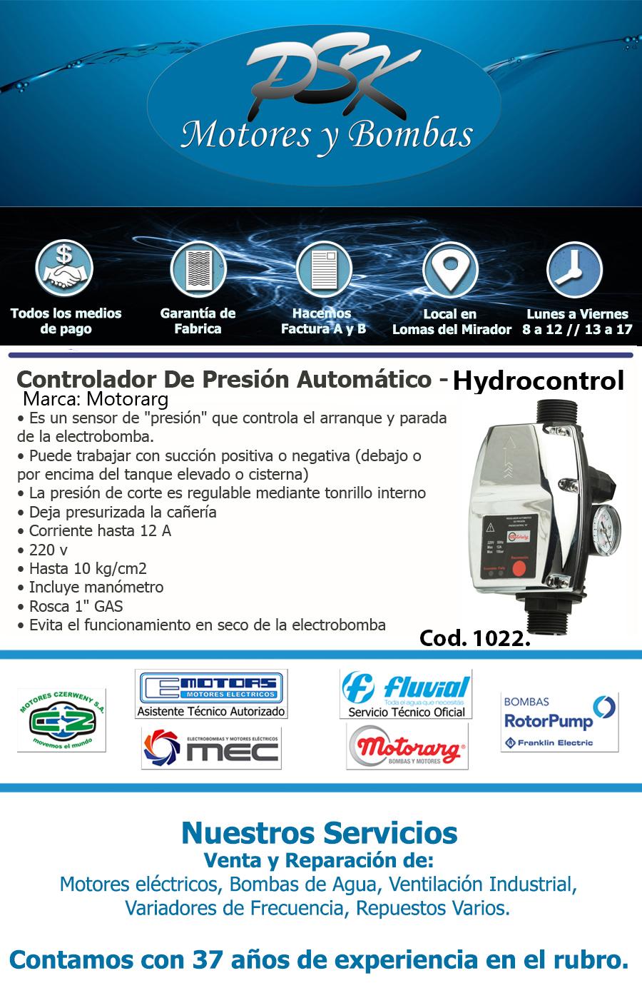 Hydrocontrol Motorarg